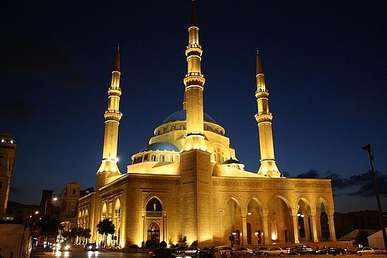 La mosquée d'Al Hariri place des Martyrs