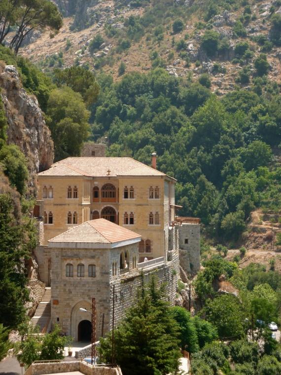 Le monastère de Saint-Antoine