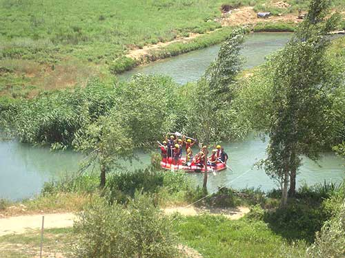 Sortie Rafting sur l'Al Assi