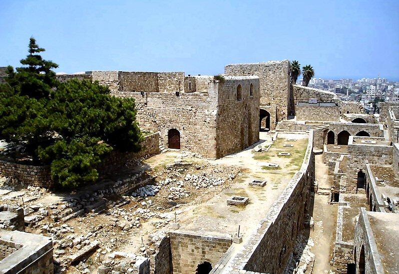 Le château de Saint-Gilles