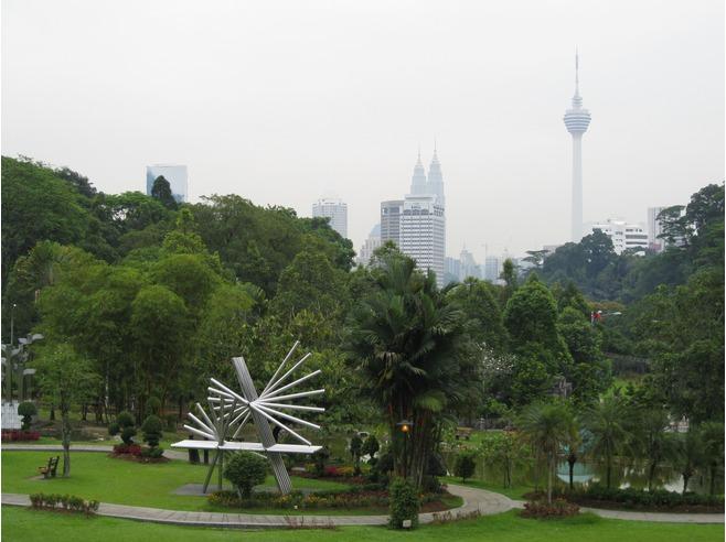Les fameuses tours de Kuala Lumpur