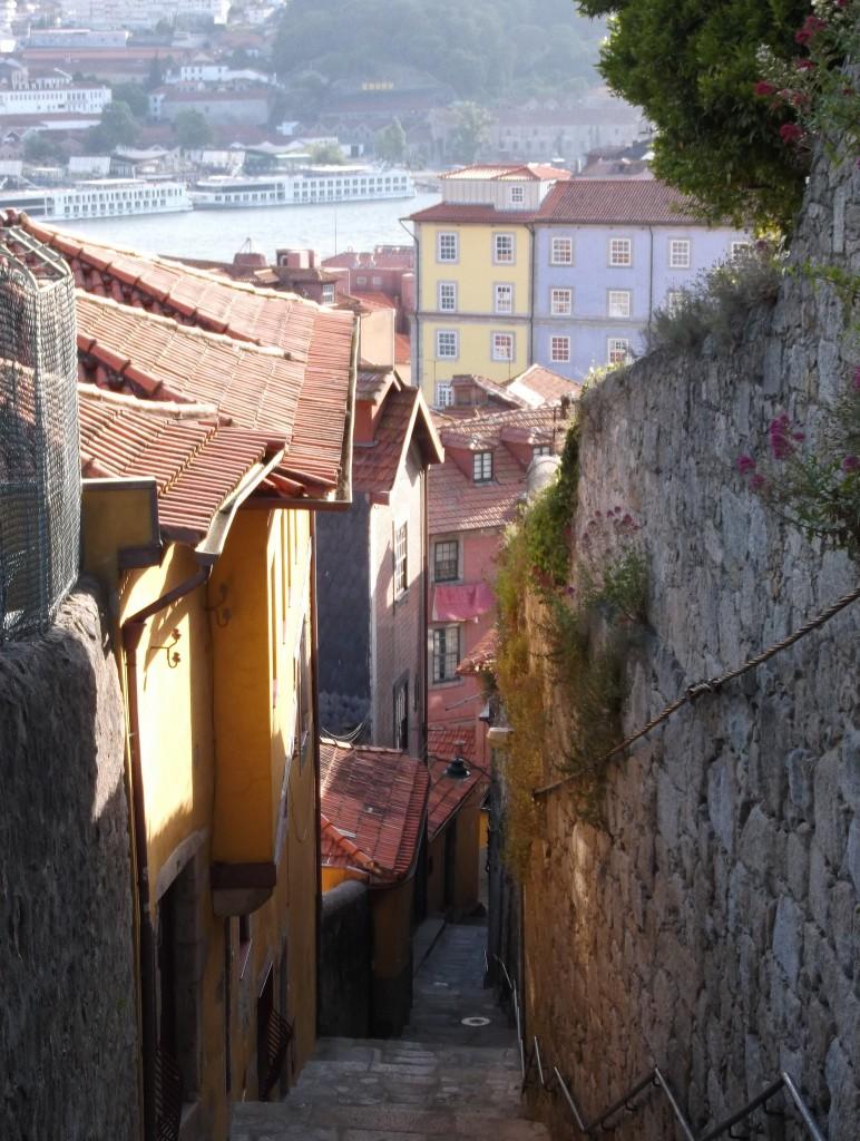 Petites ruelles typiques à Porto