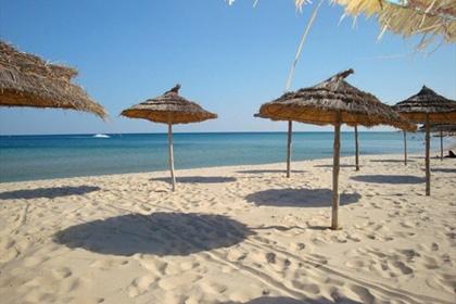 Les plages d'Hammamet