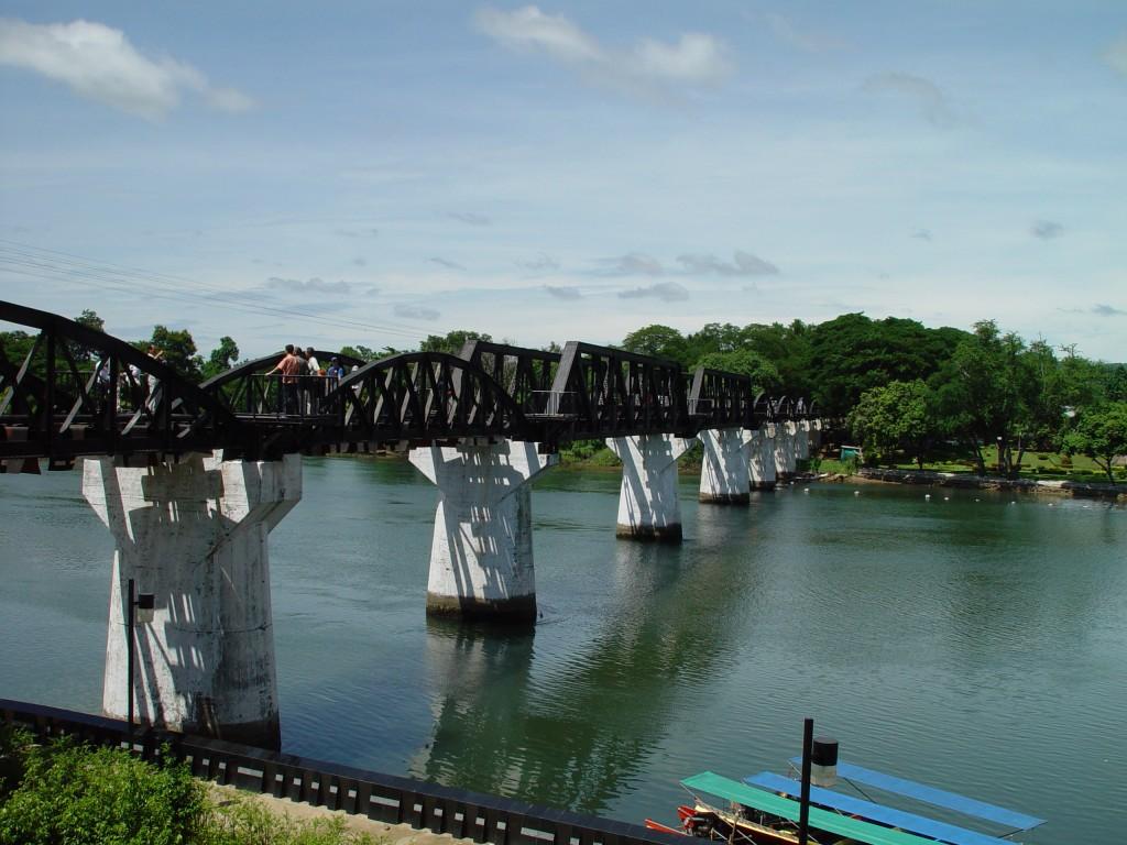 Le fameux pont de la rivière Kwaï !