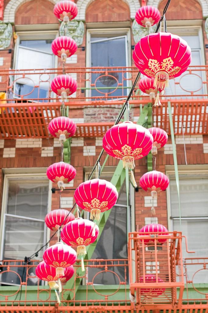 Le ciel de Chinatown