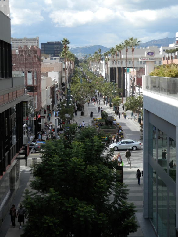 Shopping sur la third Promenade de Santa Monica