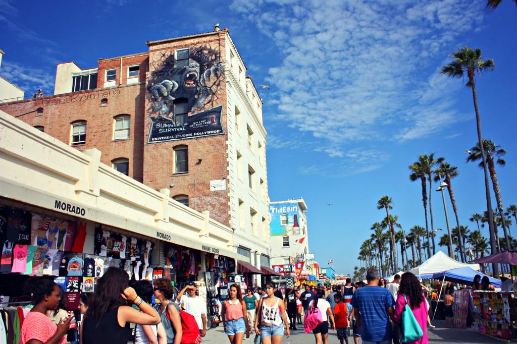 Boardwalk ou la promenade de Venice Beach
