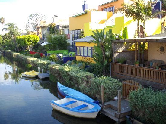 Les canaux de Venice, Los Angeles