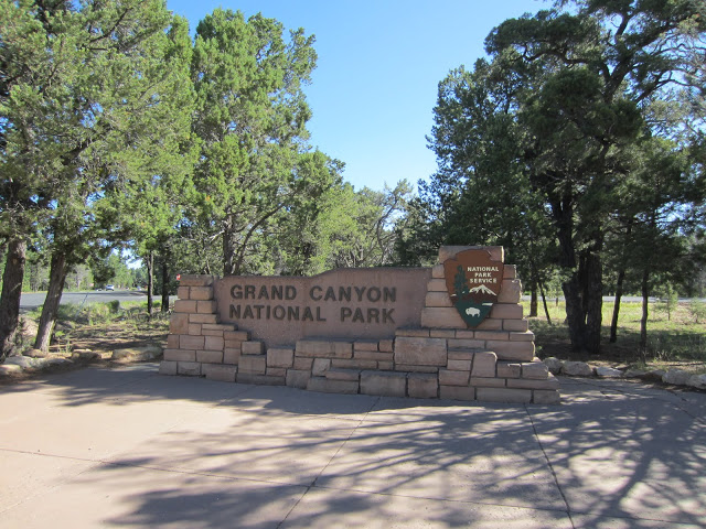 Grand Canyon National Park, here we are !