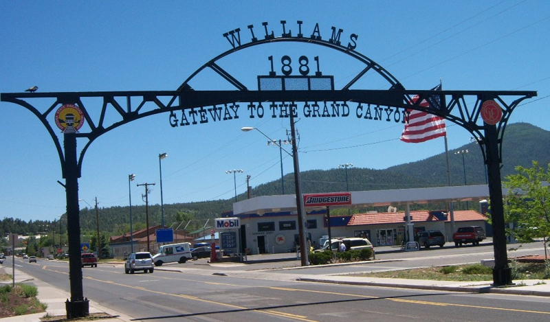 Bienvenue à Williams, AZ !