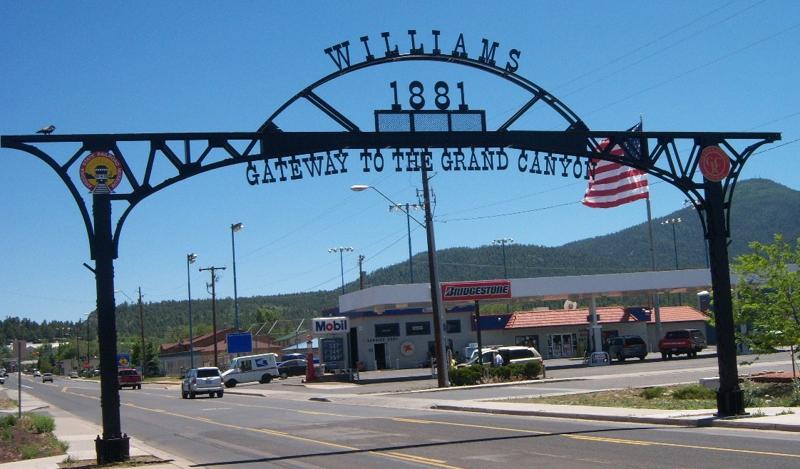 Bienvenue à Williams, AZ !